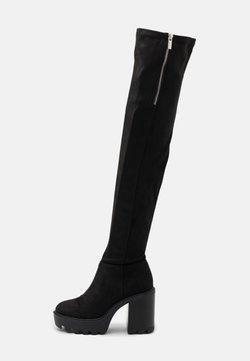 Even&Odd - Stivali con i tacchi - black