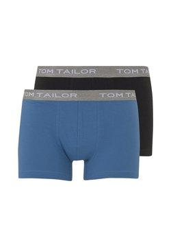 TOM TAILOR - 2 PACK - Shorty - blue-uni