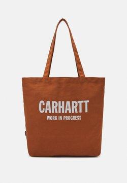 Carhartt WIP - WAVY STATE TOTE UNISEX - Shoppingväska - rum/wax
