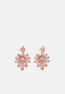 Pieces - PCLEEZA EARRINGS - Korvakorut - gold-coloured/rose