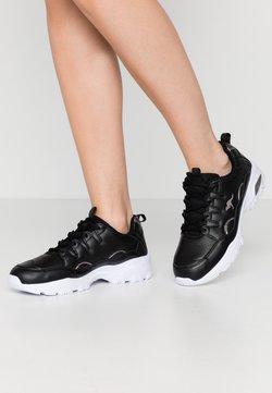 KangaROOS - KW-BIRDY - Sneakers laag - jet black/silver