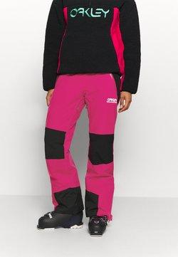 Oakley - WOMENS INSULATED - Spodnie narciarskie - rubine red
