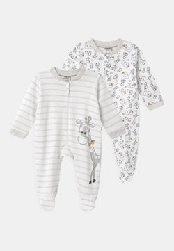 Jacky Baby - 2 PACK UNISEX - Piżama - white/beige