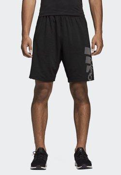 adidas Performance - 4KRFT Sport Graphic Badge of Sport Shorts - Pantalón corto de deporte - black