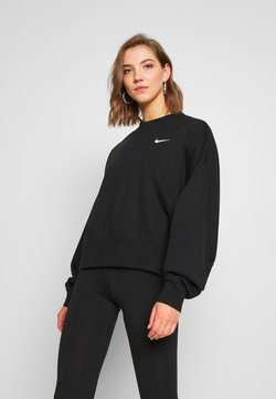 Nike Sportswear - CREW TREND - Sweater - black/white
