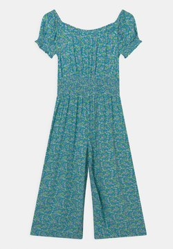 Marks & Spencer London - SHIRRED - Overall / Jumpsuit /Buksedragter - turquoise