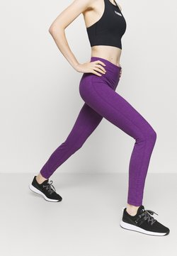 Diadora - LEGGINGS BE ONE - Tights - majesty violet melange