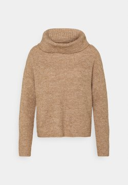 Anna Field - COWL NECK JUMPER - Neule - camel