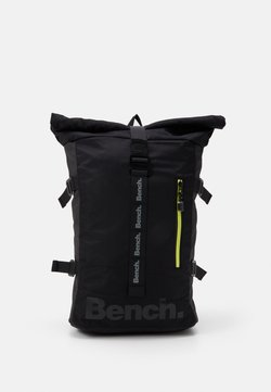 Bench - ROLL TOP BACKPACK - Reppu - black