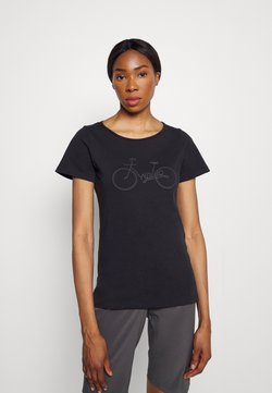 Triple2 - TUUR EEN BIKE - T-shirt med print - anthracite