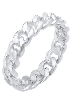 Elli - TWISTED LOOK - Ring - silver coloured
