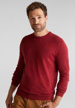 Esprit - Strickpullover - garnet red