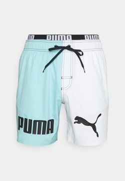 Puma - SWIM MEN COLOR BLOCK - Bañador - black