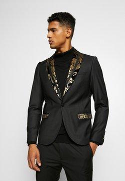 Twisted Tailor - VOLPI BLAZER - Suit jacket - black
