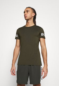 Björn Borg - BORG TEE - T-Shirt print - rosin