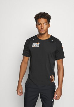 Nike Performance - RISE - Camiseta estampada - black