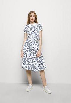 Polo Ralph Lauren - Freizeitkleid - white/dark blue