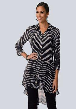 Alba Moda - Hemdbluse - grau,schwarz