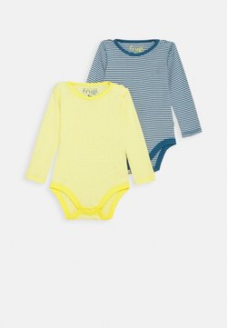 Frugi - POINTELLE BODY 2 PACK - Body - multi-coloured