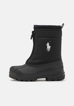 Polo Ralph Lauren - QUILO ZIP UNISEX - Śniegowce - black/grey
