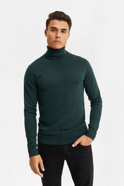 WE Fashion - Strickpullover - dark green