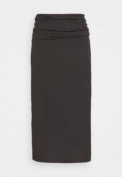 DKNY - Bleistiftrock - black