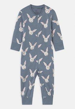 Lindex - RABBIT FACES UNISEX - Pyjama - dusty blue