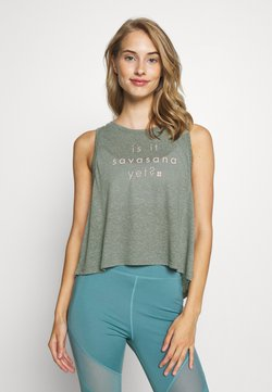 Sweaty Betty - SWING - Top - sage green