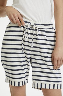 Cream - Shorts -  white