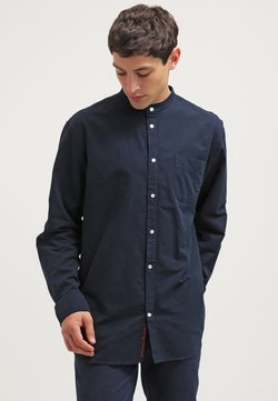 Knowledge Cotton Apparel - SLIM FIT - Hemd - total eclipse