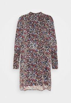Vero Moda - VMELLIE SMOCK SHORT DRESS - Korte jurk - snow white