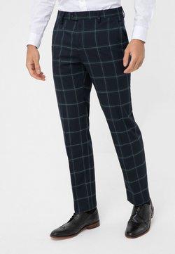 Next - Spodnie garniturowe - blu/green