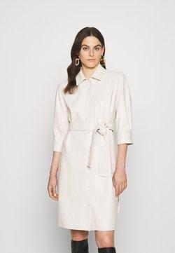 Marella - BRONTE - Skjortekjole - bianco lana