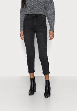 Vero Moda Petite - VMJOANA MOM  - Relaxed fit jeans - black