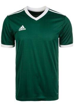 adidas Performance - TABELA 18 - Printtipaita - green/white