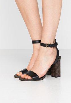 MICHAEL Michael Kors - PETRA - High Heel Sandalette - black/brown