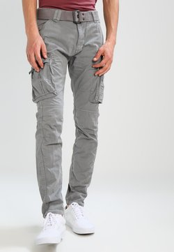 Schott - TRRANGER - Cargo trousers - grey