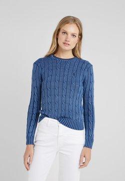 Polo Ralph Lauren - JULIANNA  - Stickad tröja - dark blue
