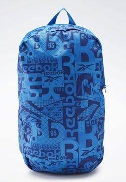 Reebok - GRAPHIC BACKPACK - Reppu - blue