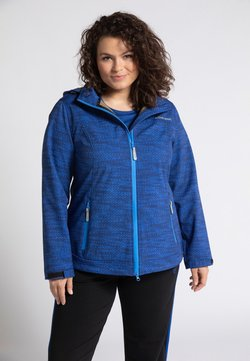 Ulla Popken - Softshelljacke - dark blue multi