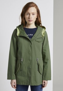 TOM TAILOR DENIM - Parka - dull moss green