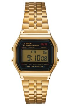 Casio - COLLECTION RETRO - Montre à affichage digital - goldfarben
