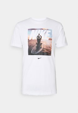 Nike Performance - TEE - T-Shirt print - white