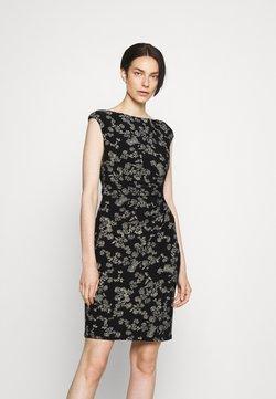 Lauren Ralph Lauren - NOVELLINA DAY DRESS - Etuikleid - black/colonial cream