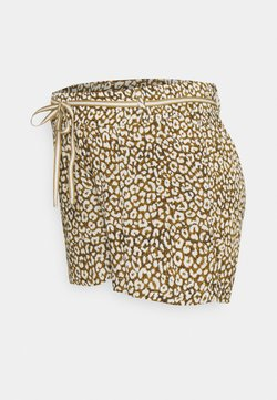 Supermom - LEOPARD - Shorts - dull gold