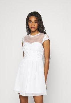Nly by Nelly - DREAM ON DRESS - Sukienka koktajlowa - white