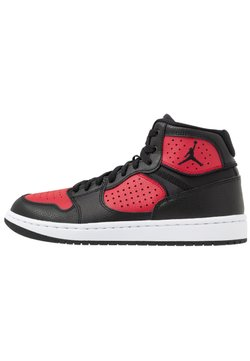 Jordan - JORDAN ACCESS - Sneaker high - black/gym red/white