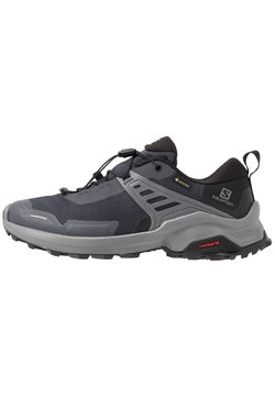 Salomon - X RAISE GTX - Vaelluskengät - ebony/black/quiet shade