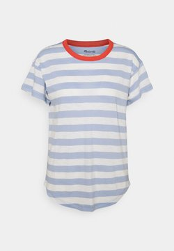 Madewell - WHISPER SORREL CREWNECK TEE - T-Shirt print - blue