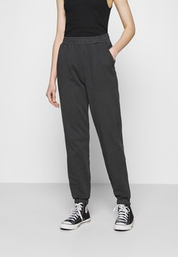 Nly by Nelly - WASHED OUT PANTS - Jogginghose - offblack